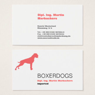 cool, bold, pro! business card