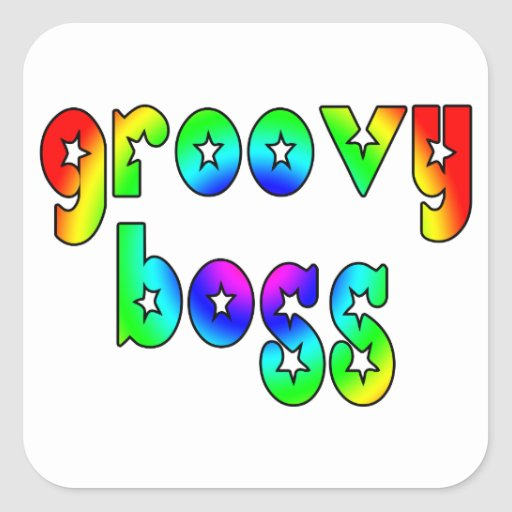 Cool Bosses Office Christmas Parties : Groovy Boss Stickers