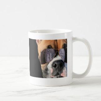 Cool Boxer in sunglasses mug