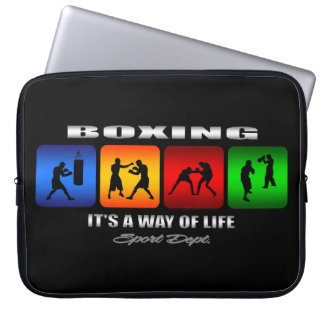 Cool Boxing It Is A Way Of Life Laptop Computer Sleeve