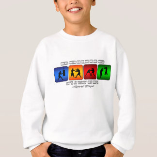 Cool Boxing It Is A Way Of Life Sweatshirt
