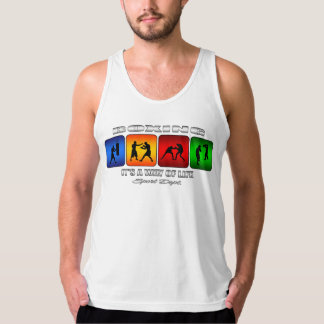 Cool Boxing It Is A Way Of Life Tank Top