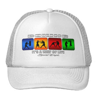 Cool Boxing It Is A Way Of Life Trucker Hat