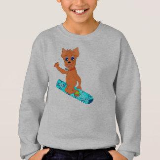 Cool Boy's Clothes - Happy Snowboarding Sweatshirt