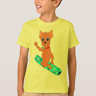 Cool Boy's Clothes - Happy Snowboarding T-Shirt
