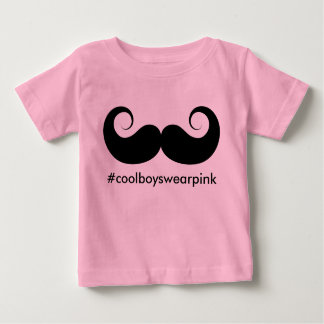 Cool Boys Wear Pink Baby T-Shirt