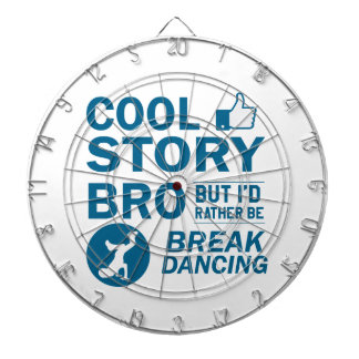 Cool break dancing designs dartboard