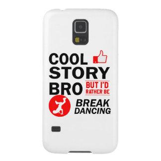 Cool break dancing designs galaxy s5 cover
