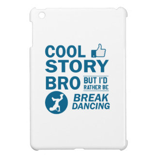 Cool break dancing designs iPad mini case