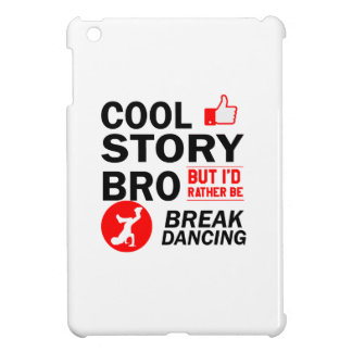 Cool break dancing designs iPad mini cover