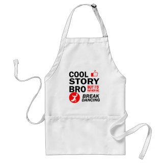 Cool break dancing designs standard apron