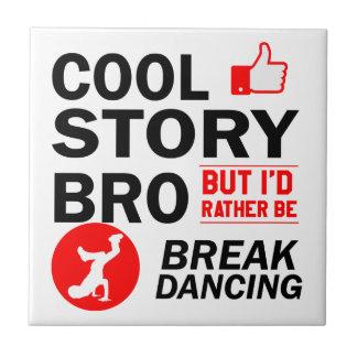 Cool break dancing designs tile