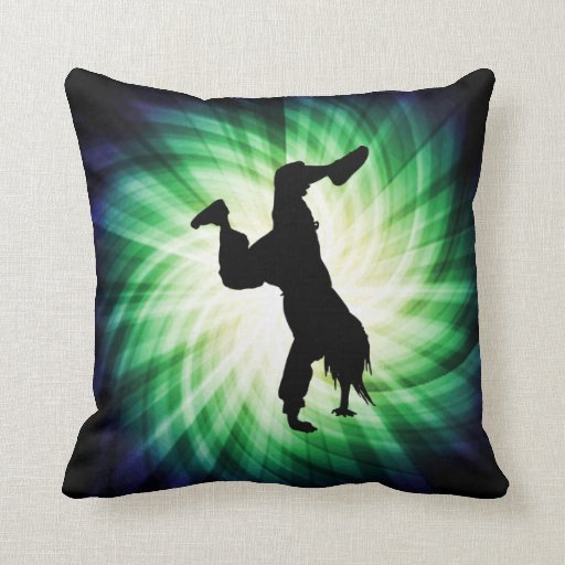 Cool Breakdancer Pillow
