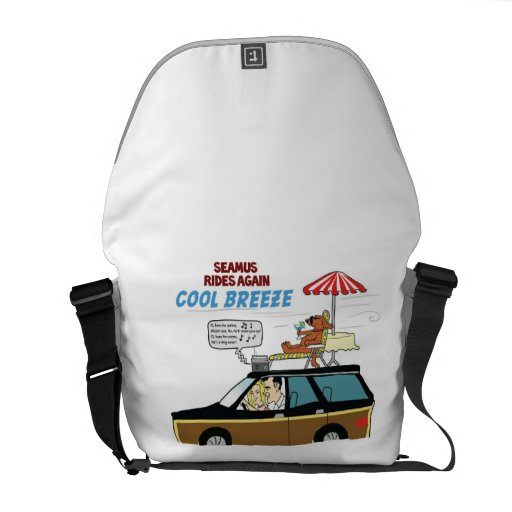 Cool Breeze - Messenger Bag