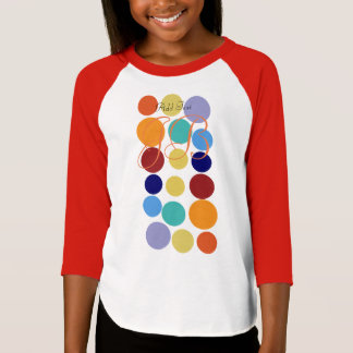 Cool Bright Polka Dots Kids T-shirt