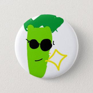 Cool Broccoli 2 Inch Round Button