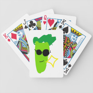 Cool Broccoli Bicycle Playing Cards