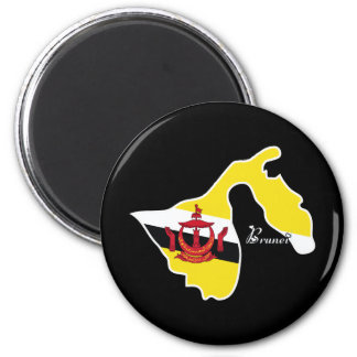 Cool Brunei 2 Inch Round Magnet