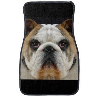 Cool Bulldog Pet Design Car Mat