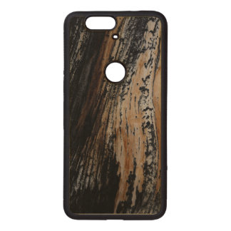 Cool Burnt Tree Trunk Texture Photograph Wood Nexus 6P Case