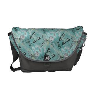 Cool Butterfly Graphic Art Messenger Bag