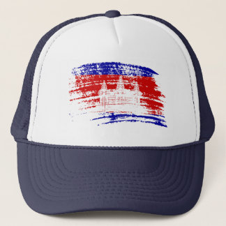 Cool Cambodian flag design Trucker Hat