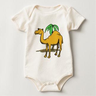 Cool camel baby bodysuit