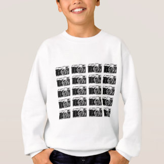 Cool camera pattern sweatshirt