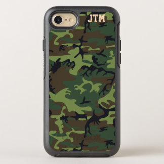 Cool Camouflage Camo Monogram OtterBox Symmetry iPhone 8/7 Case