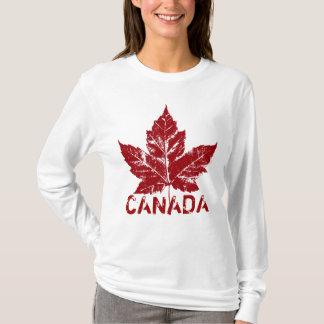Cool Canada Hoodie Retro Maple Leaf Souvenir