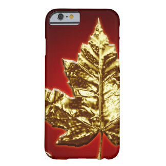 Cool Canada iPhone 6 Case Gold Canada Leaf Gifts Barely There iPhone 6 Case