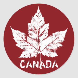 Cool Canada Stickers Maple Leaf Souvenir Stickers