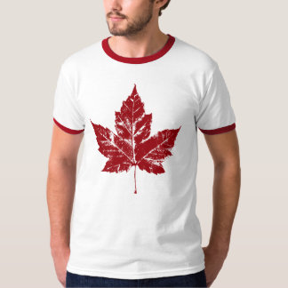 Cool Canada T-shirt Retro Maple Leaf Souvenir