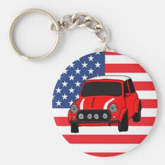 Cool car design keychain