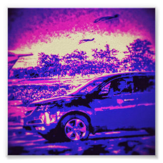 Cool Car Poster