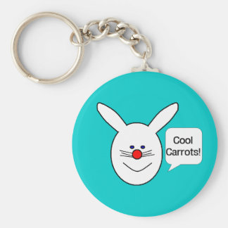 Cool Carrots Keychain