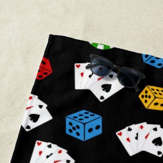 Cool Casino motel pool side towel