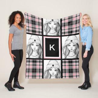 Cool Casual & Girly Fleece Blanket