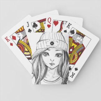Cool Casual & Girly Playing Cards