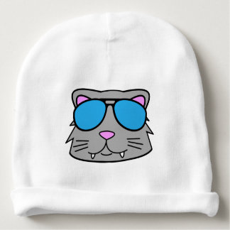 Cool Cat Baby Beanie
