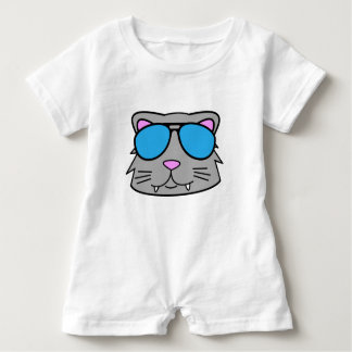 Cool Cat Baby Romper