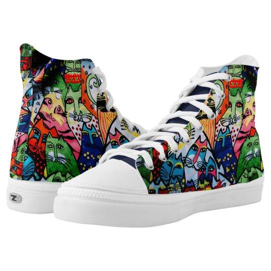 Cool Cat Converse Shoes | Zazzle.ca