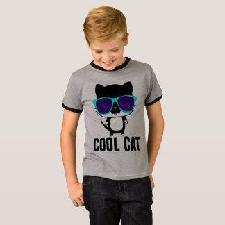 COOL CAT Funny Kids Boys T-shirts, Sunglasses T-Shirt