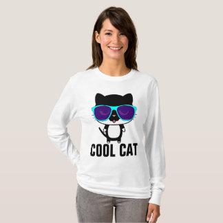 COOL CAT Funny T-shirts, Sunglasses T-Shirt