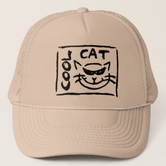 COOL CAT (hat) Trucker Hat