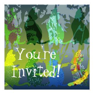 Cool Cat Invitation