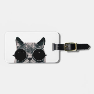 COOL CAT. LUGGAGE TAG