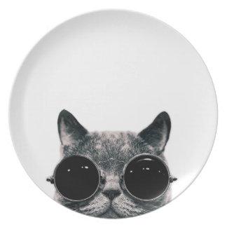 COOL CAT. PLATE