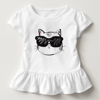 Cool Cat Toddler Wear. Toddler T-shirt