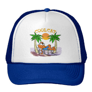 Cool Cat Trucker Hat